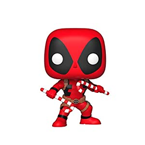 Funko Pop Deadpool Navidad – con bastones de caramelo (Deadpool 400) Funko Pop Deadpool