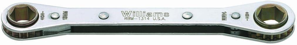 36 Millimeter Williams RBM-36 Single Head Ratcheting Box Wrench