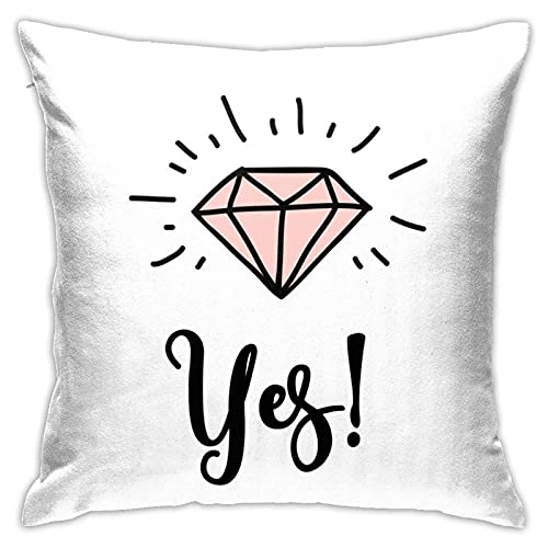 XCNGG Love Doodles Throw Pillow Case Decorativo para el hogar para Sala de Estar Dormitorio Sofá Silla 18X18 Pulgadas Funda de Almohada 45X45cm
