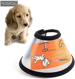 Dog Cone - Puppy Dog Cone Elizabethan Collar Pet Protective Wound Healing Prevent Lick Collars Mascotas