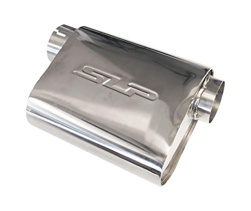 SLP PowerFlo Performance Exhaust Universal Muffler 3' Inlet and Outlet