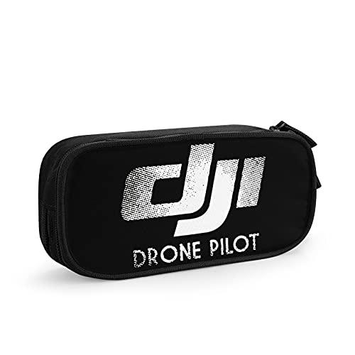 Dji Drone Phantom Pilot Astuccio Per Matite, Borse Per Penne Di Grande Capacità Borsa Per Cancelleria Per Studenti, Adatta Per L'Ufficio Scolastico Delle Ragazze Dei Ragazzi