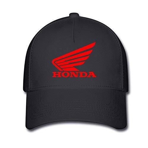 SDFGSE Unisex Honda Logo Baseball Caps Hat One Size Black