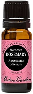 Edens Garden Rosemary Moroccan 10 ml 100% Pure Undiluted Therapeutic Grade Essential Oil GC/MS Tested