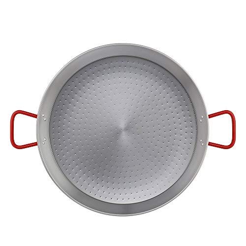 Metaltex - Paellera Acero Pulido 25 Raciones 65 cm