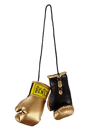 BENLEE Rocky Marciano Unisex – Erwachsene Mini Miniature Boxing Gloves, Gold, one Size