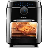 Ultrean 12.5 Quart Air Fryer Oven, Air Fryer Toaster Oven Combo with Rotisserie,Bake,Dehydrator,Auto Shutoff,8 Touch Screen Preset, Recipe and 8 Accessories Included, 12 Liter Family Size and UL Listed