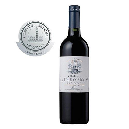 CHATEAU LA TOUR CORDOUAN - 2014 - Grand Vin Rouge de Bordeaux Médoc - Médaillé d'argent au Concours de Bruxelles 2017
