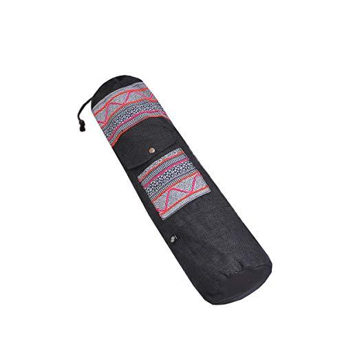 virblatt Borsa Yoga Porta Tappetino Yoga di Canapa Come Zaino Yoga – Bhakti lei