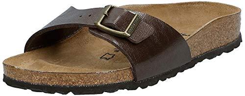 Birkenstock Women's Narrow Fit Sandals, Toffee, 6.5 us