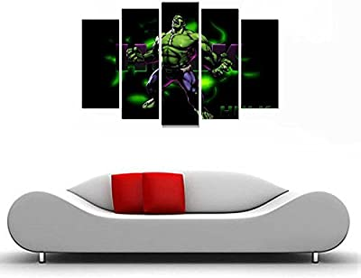 Impression Wall Decor The Hulk Sticker (Cover Area :- 61 x 91 cm)