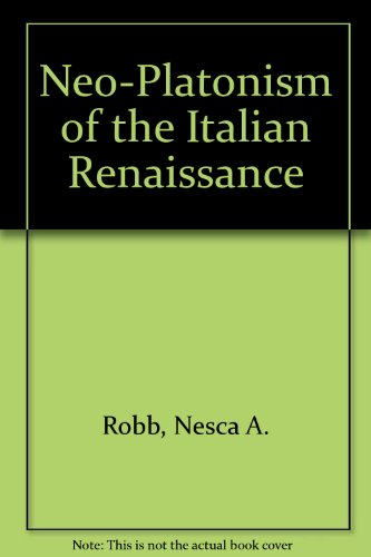 Neo-Platonism of the Italian Renaissance