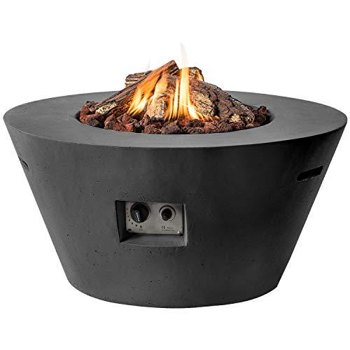 Happy Cocoon Fire Pit Gas Cono Negro
