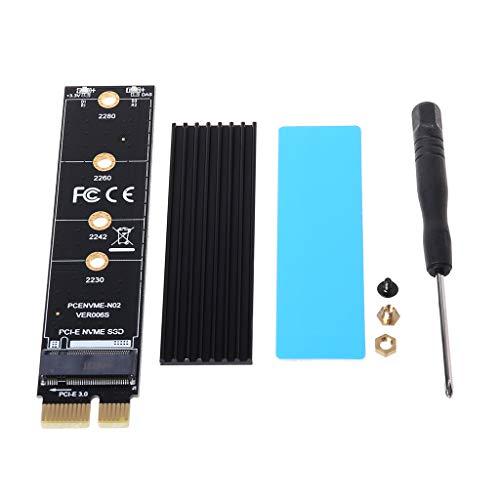 FZMT NGFF M.2 NVME M SSD Tarjeta adaptadora PCI-E