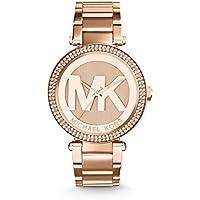 Michael Kors Reloj Analogico para Mujer de Cuarzo con Correa en Acero Inoxidable MK5865