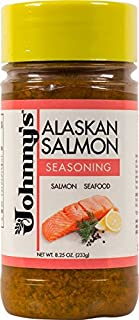 Johnny's Alaskan Salmon Seasoning 8.25 oz (Pack of 6)