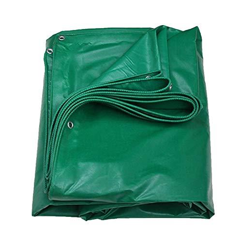 Jonist Tela Protector Lona alquitranada Impermeable Resistencia Al Desgarro 450g/㎡ para Pérgola Al Aire Libre, Terraza, Planta, Piscina, Camping