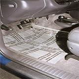 "Detail King Plastic Carpet Protectors | 4 Mil 24"" Perf. 200 feet | Self-Adhesive Carpet Protection Film"