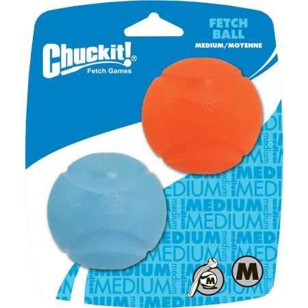 Bola Chuckit Fetch Ball 2Un M para Cães Chuckit para Cães, Medio