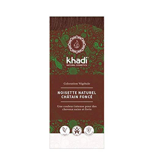 KHADI - Teinture Aux Plantes Noisette Naturelle 100G - Lot De 2