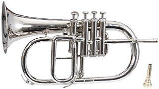 Queen Brass ، F-25 ، Flugel Horn ، Bb 4 Valve (نیکل)