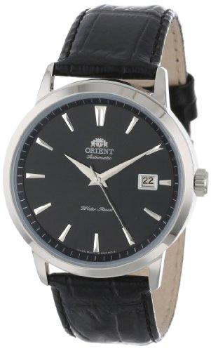 Orient Symphony Herren-Armbanduhr 41mm Armband Leder Automatik FER27006B0
