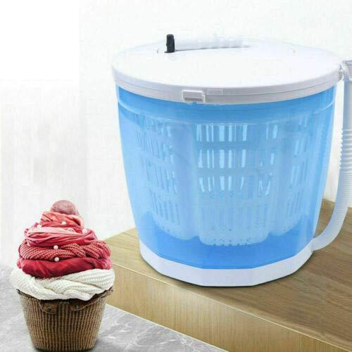 2KG Tragbare Mini Waschmaschine Single Reise Waschautomat Tragbar Kleine Handbetriebene Wäsche Machine Campingwaschmaschine Waschen von Gemüse, für Singles Studentenhaushalte