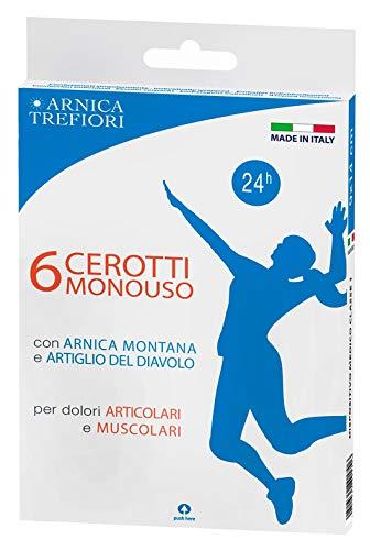CEROTTI SPORT ARNICA e ARTIGLIO del DIAVOLO - 6 pezzi TREFIORI