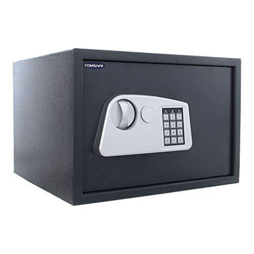 HomeDesign 104457 snabb 2 möbler säkert elektroniskt lås värdefullt skydd hemmakontor hotell gästhus kontanter säkerhet hantering HDS-6100