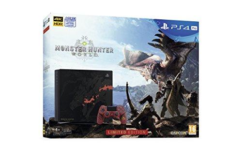 Playstation 4 Pro (PS4) - Consola - Edición Especial + Monster Hunter: World