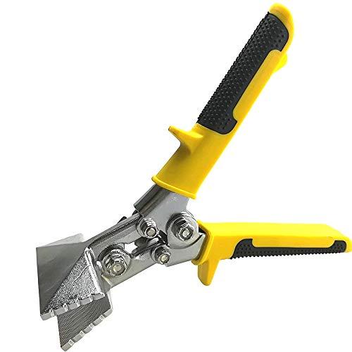 Red Oak Tools Sheet Metal Hand Seamer – 3 Inch Straight Jaw Metal Bender - Yellow