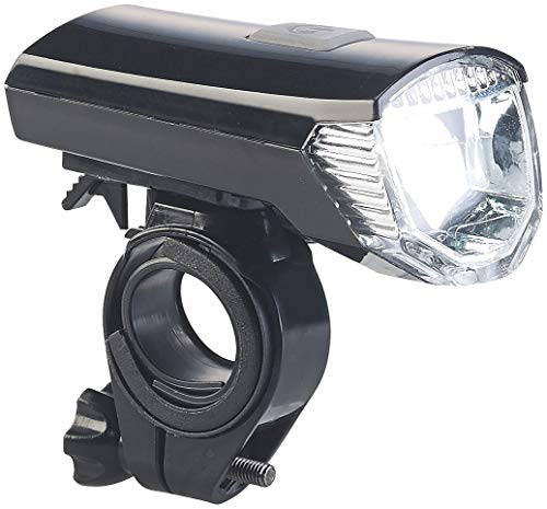 PEARL Fahrradbeleuchtung: Akku-Fahrradlicht mit Cree-LED & Lenker-Halter, 120 Lumen, USB, IPX4 (Velolampe)