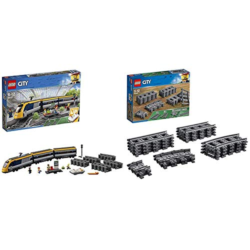 Lego City, Treno Passeggeri, 60197 & City, Binari, 60205
