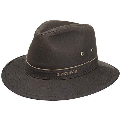 Stetson Ava Waxed Cotton Waterproof Hat (XL (60-61cm))