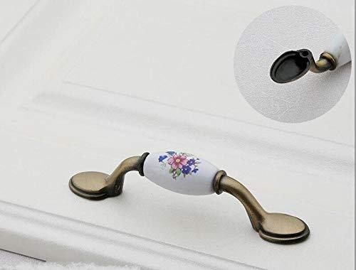 Leve per porte,Manopole Colorate Per Fioriere In Ceramica Maniglie Per Porte Maniglie Per Armadio Cassetto Per Mobili Maniglia-M