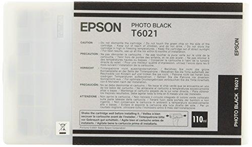 Epson C13T602100 inktcartridge voor Epson 78XX/ 98XX Stylus Pro-printers - Foto zwart