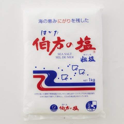伯方の塩 1kg 3個