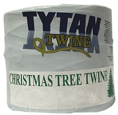 TYTAN INTERNATIONAL LLC PTXMAS475W Christmas Tree Twine, White Tube, 5-Lb. - Quantity 8