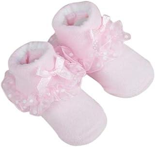 Calcetines de recién nacido/Patucos bebé de algodón (0-24 meses)