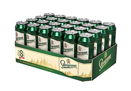 Staropramen Premium Staropramen Dosenbier Palette EINWEG (24 x 0.5 l) Pils Tschechien Premium Inkl. 6 Euro Pfand