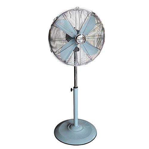 Nydz Staande ventilator van metaal, elektrische ventilator in retro-stijl, industrie, woonkamer
