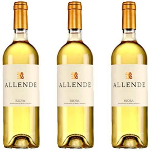 Allende Vino Blanco - 3 botellas x 750ml - total: 2250 ml
