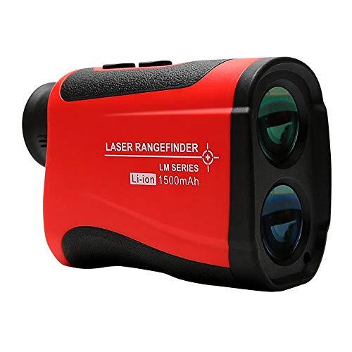 TZH Laser-Entfernungsmesser, 1000M Multifunktionale USB-Lade Tragbarer Digitalanzeige Entfernungsmesser Teleskops, 7fach optischen Zoom, Golf Entfernungsmesser, geeignet für Outdoor-Golf, Jagen