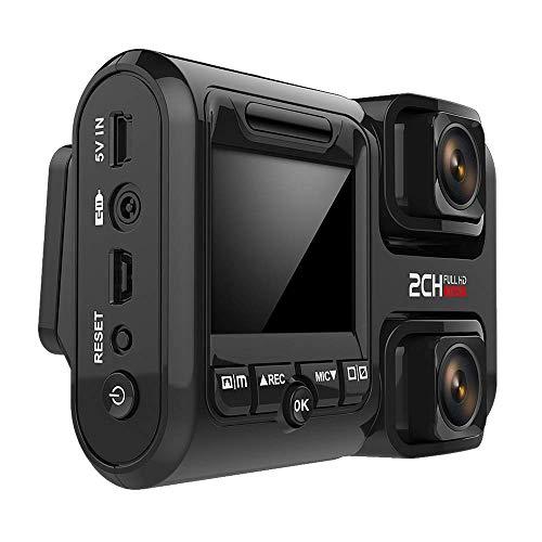 HD Dash Cam, 1080P 360 Panorama Vorder- Und Rückseite Dual Recording Hochauflösendes Nachtsichtgerät, Im Auto Montiert Versteckte 24-Stunden-Überwachung Kabelloser Fahrrekorder