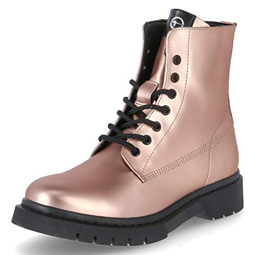 Tamaris Damen Stiefel Rose Metallic, Schuhgröße:EUR 39
