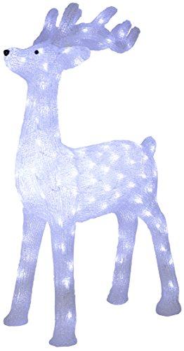 Star 583–74 lumière décorative, plastique, transparent, 56,5 x 26 x 91 cm