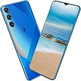 Pretty Store 5G Android Smartphone, Batería De 5800 MAh, Pantalla De 6,7 Pulgadas Infinito-V, 256 GB / 8 GB RAM, Dual SIM (Color : Blue)