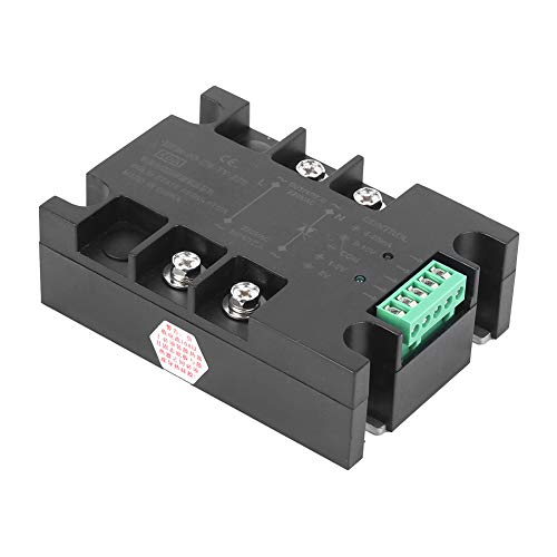 BERM DC Voltage Regulation Practical Relay, Heat Dissipation SSR, for 3D Printer Hot Bed Heated Bed(BEM-40-ZN-TY-220)