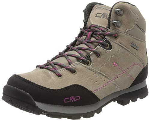 CMP – F.lli Campagnolo Damen Alcor Mid Wmn Shoes Wp Trekking- & Wanderstiefel, Braun (Desert P613), 39 EU