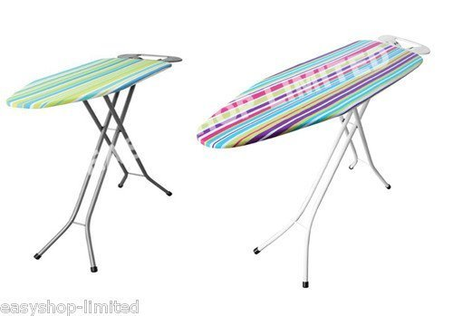 FunkyBuys Lightweight Steel Folding Ironing Board